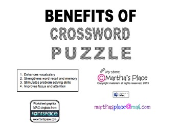 Fall Crossword Puzzles