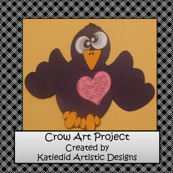 Crow,  Fall Crafts