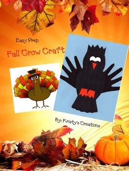 Fall Crow Craft