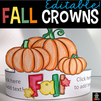 Fall Hats - Editable