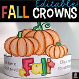 Fall Hats - Editable
