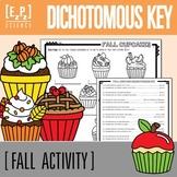 Fall Cupcake Dichotomous Keys