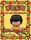 Fall Cut-Up Sentences