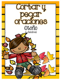 Fall Cut and Paste Sentences in Spanish