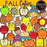 Fall Cuties Clipart {Fall Clipart}