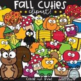 Fall Cuties Clipart {fall elements clipart}