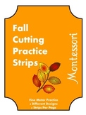 Fall Cutting Practice Strips