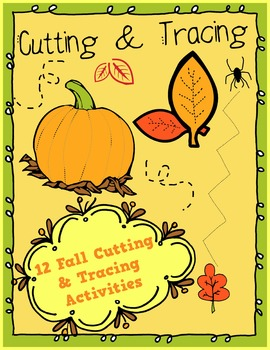 Fall Cutting and Tracing Skills
