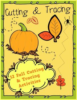 Fall Cutting and Tracing Skills