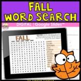 Fall DIGITAL Word Search
