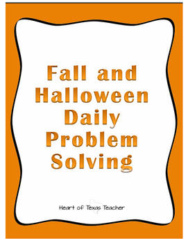 Fall Daily Problem Solving