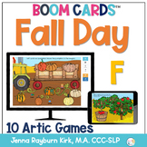 Fall Day: F Sound BOOM Cards™️  for Distance Learning Spee