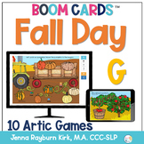 Fall Day: G Sound BOOM Cards™️  for Distance Learning Spee