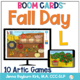Fall Day: L Sound BOOM Cards™️  for Distance Learning Spee