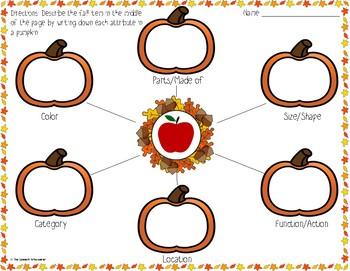 Fall Describing with Attributes