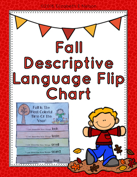 Fall Descriptive Language Flip Chart