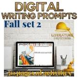 Fall Descriptive Writing Prompts Digital (Digital Google D