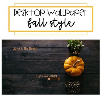 Fall Desktop Wallpaper By Teaching Dandelions Teachers Pay Teachers