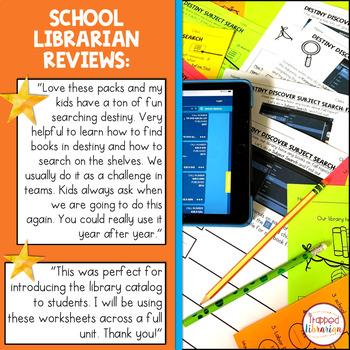 Fall Destiny Library Catalog Practice