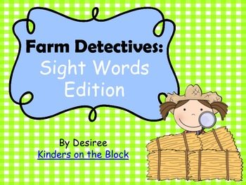 Farm Detective: Sight Words Edition