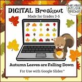 Fall Digital Breakout Escape Room (Google Slides) Grades 3-5