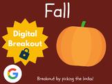 Fall - Digital Breakout! (Escape Room, Scavenger Hunt)