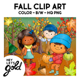 Fall Clip Art (by Hey, Let's Gold)