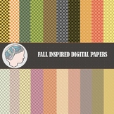 Fall Digital Paper / Autumn Digital Paper