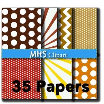 Fall Digital Papers
