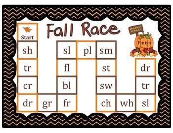 Fall Digraph and Blend Race