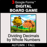Fall: Dividing Decimals by Whole Numbers - Digital Board G