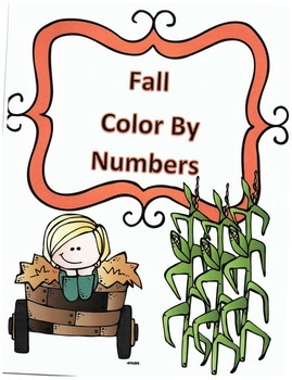 Fall Division Color By Numbers