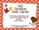 Fall Division Task Cards {32 Fall-Themed Task Cards}