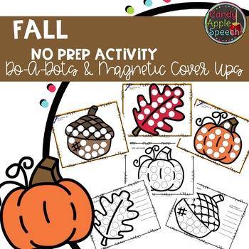 Fall No Prep Activities