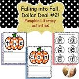 Pumpkin Literacy Activities& Centers-(Falling into Fall Do