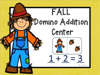 Fall Domino Addition Center