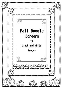 Fall Doodle Borders