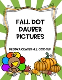 Fall Dot Dauber Pictures