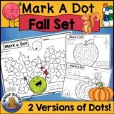 Fall Dot Dauber Set Autumn Printables