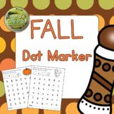 Fall Dot Marker Center