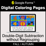 Fall: Double-Digit Subtraction without Regrouping - Digita
