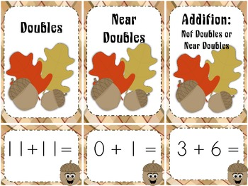 Fall Doubles, Near Doubles Addition