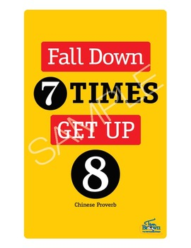 Fall Down 7 Times Poster