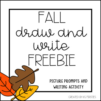 Fall Draw and Write