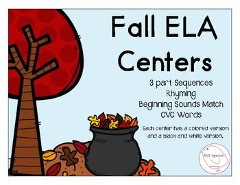 Fall ELA Centers