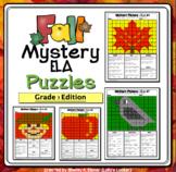 Fall ELA Mystery Puzzles - Grade 3 Edition