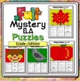 Fall ELA Mystery Puzzles Grade 4 Edition