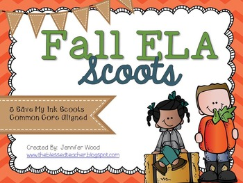 Fall ELA Scoots
