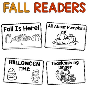 Fall Early Reader Books