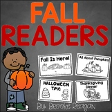 Fall Readers: Fall Emergent Reader Books